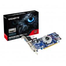 Видеокарта GIGABYTE AMD RADEON R5 230, 1GB, DDR3, DVI-D, HDMI, D-SUB, REV 2.0