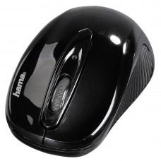 Безжична оптична мишка HAMA AM-7300 USB, черно- картонена опаковка