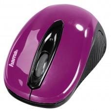 Безжична оптична мишка HAMA AM-7300 USB, цикламена
