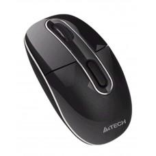 Безжична мини мишка A4TECH G7-300-1, черна,4 бутона,обхват до 15м
