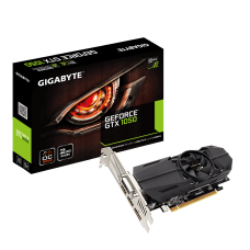Видеокарта GIGABYTE GEFORCE GTX 1050 OC LOW PROFILE 2GB GDDR5 128 BIT, DVI-D, DISPLAYPORT, HDMI