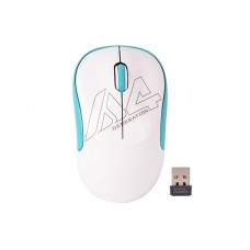 БЕЗЖИЧНА МИШКА A4TECH G3-300N, бяла, USB