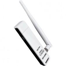 TP-LINK Безжичен N USB адаптер с външна антена TL-WN722N 150 Mbps